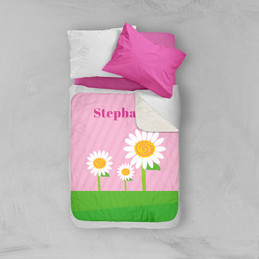 A Daisy For You Sherpa Blanket