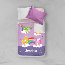 Sweet Unicorns Sherpa Blanket