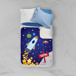 Rocket Launch Sherpa Blanket