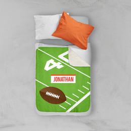 Football Fan Sherpa Blanket