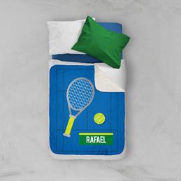 Tennis Fan Sherpa Blanket