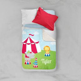 Fun Circus Sherpa Blanket