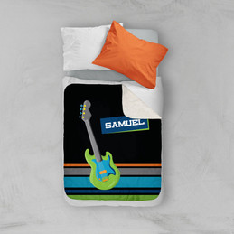 Guitar sounds Sherpa Blanket