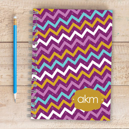 Mix Chevrons Writing Journal