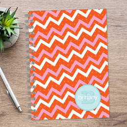 Mod Chevrons Writing Journal