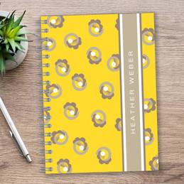 Small Swirls Writing Journal