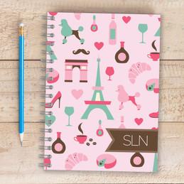 Paris Chic Style Writing Journal