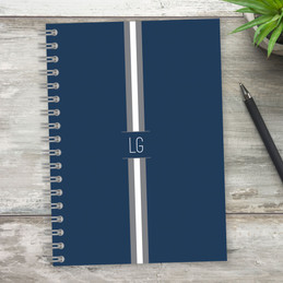 Elegant Ribbon Writing Journal