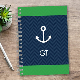 Nautical Anchor Writing Journal