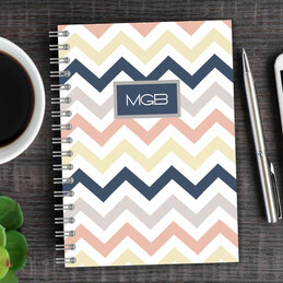 Colorful Chevrons Writing Journal