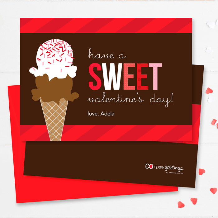 Sweet Valentine S Day Cards For Kids By Spark Spark