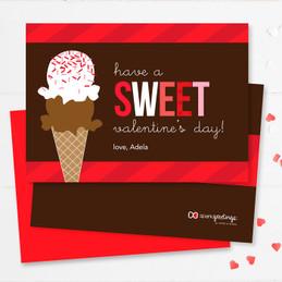 Sweet Valentine's Day Kids Valentines Cards