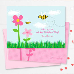 Cute Valentine Exchange Cards | A Valentine's Bee
