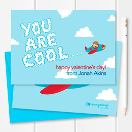 Cute Valentines Day Cards For School   You Are Cool