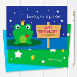 Are You My Prince Kids Valentines Cards