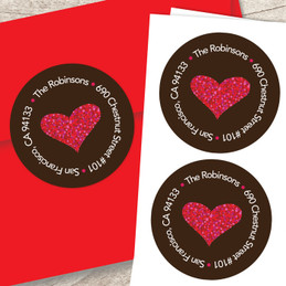 All You Need Is Love Address Labels