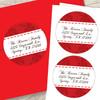 An Elegant Valentine's Day Custom Stickers