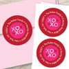 Xoxo Be My Valentine Address Labels