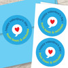 A Cool Valentine Day Custom Stickers