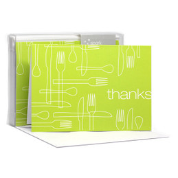Delicious Thanks Lime Notecards