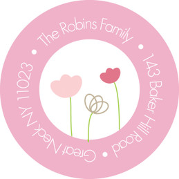 Cute Garden Christian Address Labels