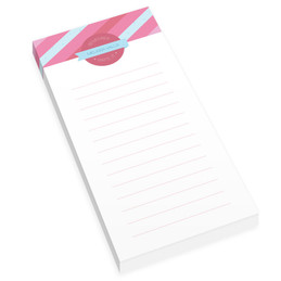 Sweet Lines Personalized List Pad