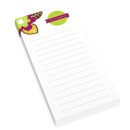 Bold Beauty Personalized List Pad