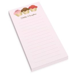 Yummy Treats Personalized List Pad