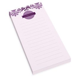 Purple Mood Personalized List Pad