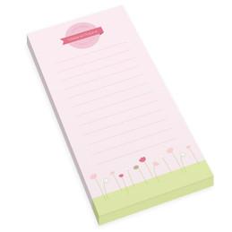 Sweet Field Personalized List Pad
