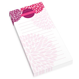 Purple And Bold Personalized List Pad