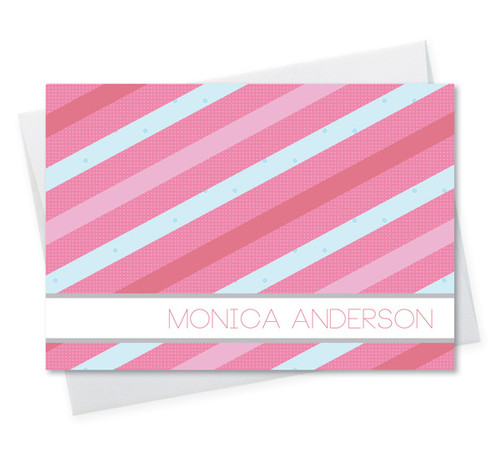 Browse Personalized Stationery Note Cards | Sweet Lines