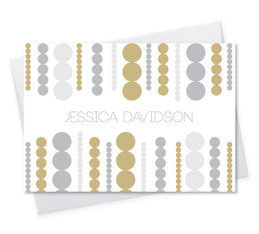 Luxe Circles Notecard