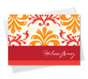 Beautiful 4X6 Notecard | Orange Mood