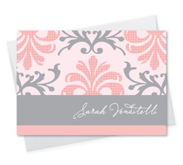 Pink Mood Notecard