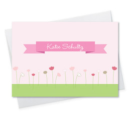 Shop Personalized Folded Note Cards | Sweet Field