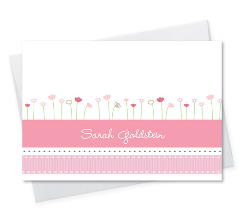 Check Out Our Personalized Stationery Note Cards | Ribbons And Flowers