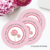 Circle Poms Poms Label Set