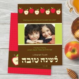 Playful Apples Card