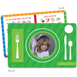 My own girl table set green