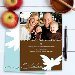 Rosh Hashanah Holiday Cards | Dove Of Peace