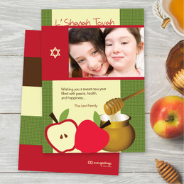Sweet Apples And Honey Card