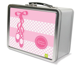 My Ballerina Shoes Metal Lunchbox