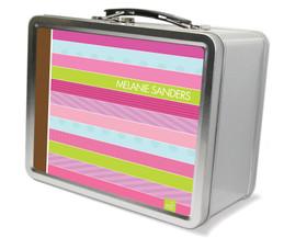 Sweet Lines Metal Lunchbox