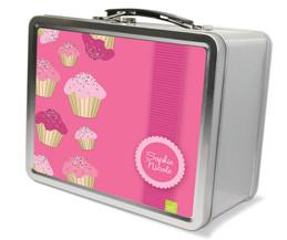 Sweet Cupcakes Metal Lunchbox