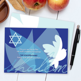 Happy Jewish New Year Cards | Modern Dove Of Peace