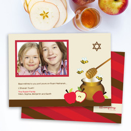 Jewish New Year Greeting Cards | Honey Bees