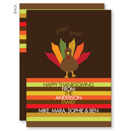 Ready For Turkey Thanksgiving Invitation