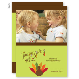 A Thanksgiving Wish Thanksgiving Invitations