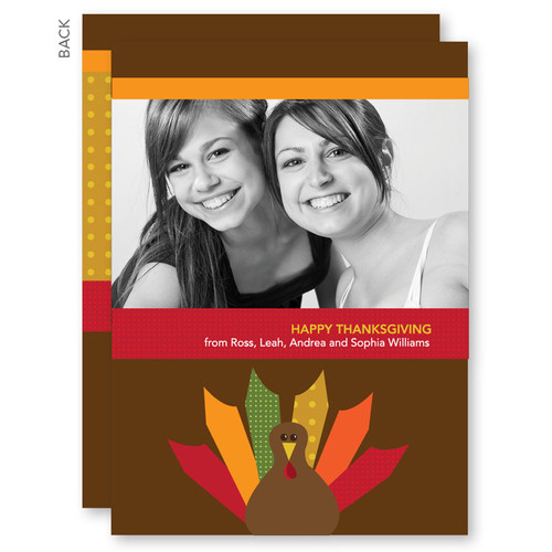 Thanksgiving Greetings   Bold Turkey
